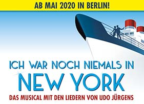 Ich war noch niemals in New York Musical Logo
